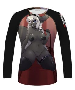 Women's Sexy Anime Wrestling Rash Guard Compression Training Activewear Fully sublimated