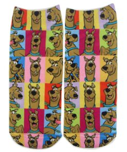 Sock Short Anime 1pair Cartoon ZF1710 Chaussettes Comfortable Motion Leisure Dog-New