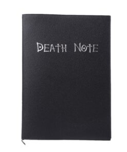 Planner Book Notebook-Theme Death-Note ZK20 Anime Diary Writing Journal Cosplay Large