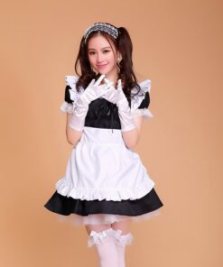Halloween-Costumes Lolita-Dress Sissy Anime Cosplay Women Maid Gothic Plus-Size for Sexy